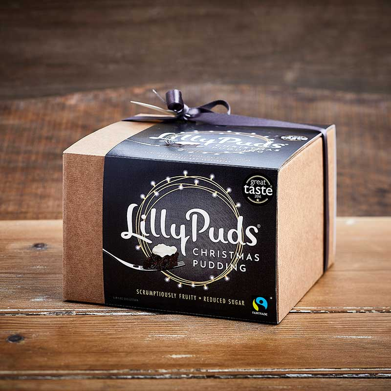 Traditional Fairtrade Christmas Puddings